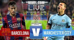 Live Barcellona-Manchester City, diretta risultato partita Champions League (1-0)