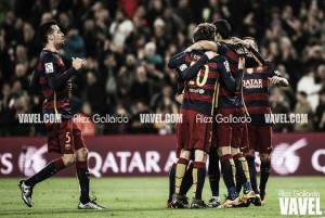 Valencia CF - FC Barcelona, puntuaciones vuelta de semifinales de Copa del Rey