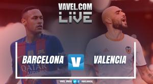 Resultado Barcelona x Valencia no Campeonato Espanhol (4-2)
