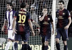 FC Barcelona - Real Valladolid: puntuaciones FC Barcelona, jornada 37