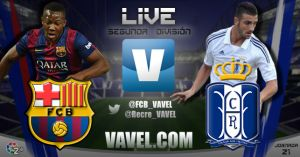 Barcelona B - Recreativo en directo online (3-1)