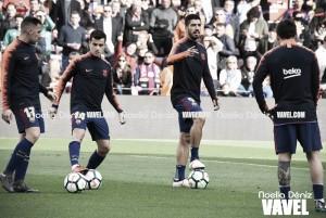 Último entreno del FC Barcelona antes de visitar Ipurua