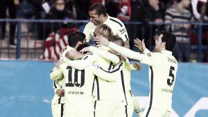 Neymar conquista el Calderón y envía al Barça a las semis