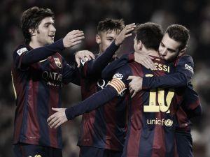 El Camp Nou, un fortín para el Barcelona