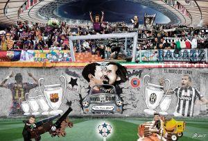 Juventus - FC Barcelona: la historia se escribe derribando el muro