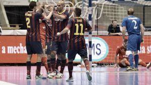 FC Barcelona Alusport - Târgu Mureş: ganar y golear