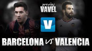 FC Barcelona - Valencia: ganar o ganar