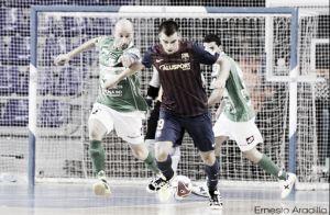 FC Barcelona Alusport - Magna Navarra: partido de rachas opuestas