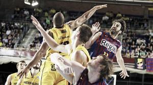 El Barcelona Regal pone el 2-0 en otro partido ajustado contra el Herbalife