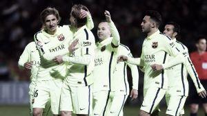 El otro Barça golea fuera de su hábitat