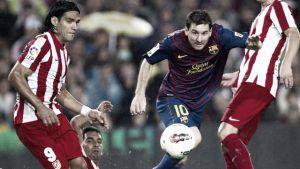 Goleada azulgrana a un Atlético venido a menos en el último duelo en el Camp Nou