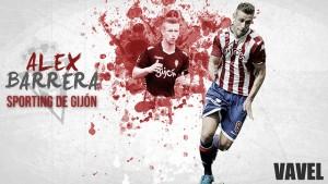Sporting de Gijón 2015/2016: Álex Barrera, fin a una vida rojiblanca