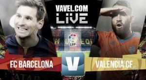ResultadoBarcelona vs Valencia en la Liga 2015 (2-0)