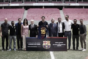 Barcelona Legends terá Rivaldo, Sorín e Frank de Boer em amistoso na Arena de Pernambuco