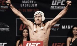 Enrique Barzola se convierte en el primer peruano en la categoría peso ligero de UFC
