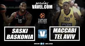 Previa Baskonia vs Maccabi Fox Tel Aviv: las espadas en todo lo alto