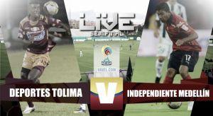 Resultado Tolima vs Medellín en la Liga Águila 2015-I (0-0)