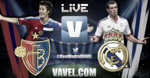 Basilea vs Real Madrid en vivo y en directo online hoy