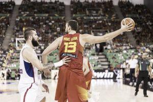 La Ñ derrota con solvencia a Serbia en un partido caliente