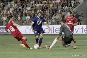 La falta de gol, protagonista en el Getafe - Bastia