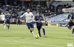 Borja Bastón, el mejor del Zaragoza según la afición
