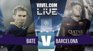 Live Bate Borisov vs Barcellona, diretta risultato Champions League 2015/2016 (0-2)