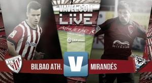 El Mirandés se deja dos puntos en San Mamés (1-1)