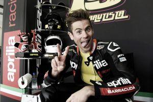 """Álvaro Bautista: """"Me sentí a gusto en la moto, estoy contento"""""""
