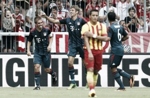 El Bayern de Pep, superior en todo a un Barça en cuadro