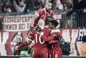 Champions League, tutto facile per il Bayern Monaco