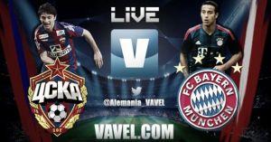 Bayern de Múnich vs CSKA Moscú en vivo y directo online