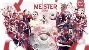 Bayern de Múnich, tricampeón de Bundesliga
