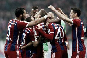 Werder Bremen 0-4 Bayern Munich: Efficient display as Guardiola's men turn on the style