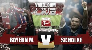 Resultado Bayern de Múnich vs Schalke 04 Bundesliga 2014-15(1-1)