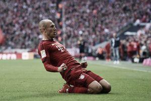 Con Robben regresan los goles