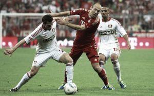Resultado Bayer Leverkusen vs Bayern de Múnich Bundesliga 2015 (2-0)