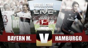 Resultado Bayern de Múnich vs Hamburgo en Bundesliga 2015 (5-0)