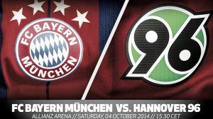 Bayern de Múnich vs Hannover 96 en vivo y en directo online