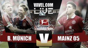 Resultado Bayern de Múnich vs Mainz 05 en Bundesliga 2015 (2-0)