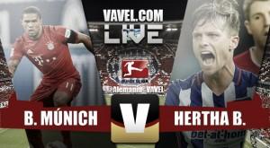 Bayern de Múnich vs Hertha de Berlin en vivo y directo online en Bundesliga 2015 (0-0)