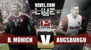 Resultado Bayern de Múnich vs Augsburgo en Bundesliga 2015 (0-1)