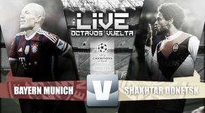 Score match Bayern Munich vs Shakhtar Donetsk (7-0) Live UCL Scores 2015