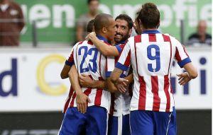 El Atlético de Madrid acaba con su falta de gol de la mejor manera
