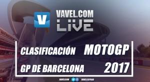 Resumen clasificación del Gran Premio de Cataluña 2017 de MotoGP