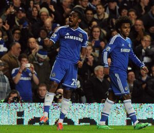 Chelsea bat Liverpool