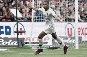 Mbappé sai do banco, marca duas vezes e Paris Saint-Germain vence Guingamp fora de casa
