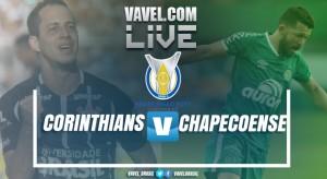 Resultado Corinthians x Chapecoense no Brasileirão2017 (1-1)