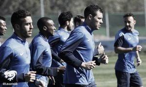 Ivanchitz vuelve a entrenar con el grupo