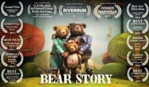 Chile ganó su primer Oscar gracias al corto animado 'Bear Story'