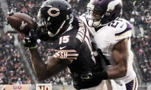 Cutler se reencontró con Marshall y Bears superó a Vikings